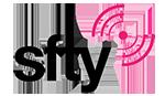 sfty white logo